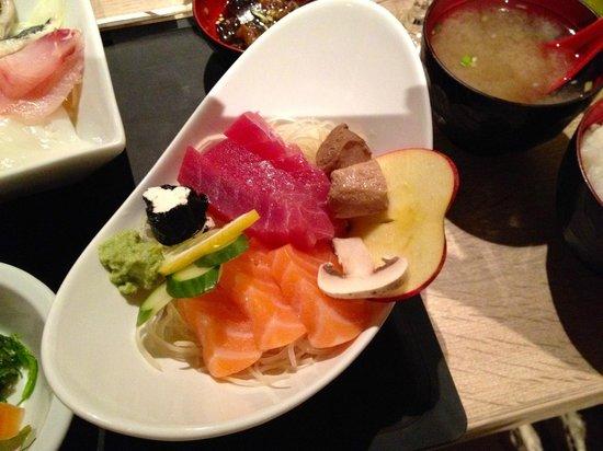 Naka : sashimi