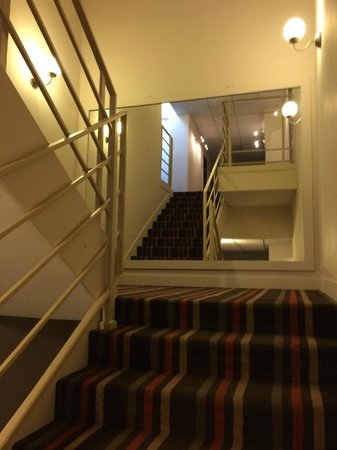 Apartamenty Okecie: stairs