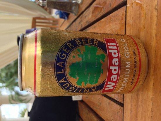Sandals Grande Antigua Resort & Spa : The local beer