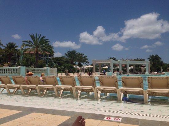 Sandals Grande Antigua Resort & Spa : Main pool