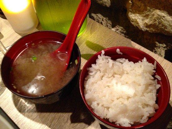 Naka : zuppa di miso con riso