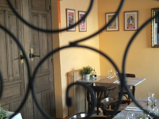 Villa Maria: Detalle del comedor