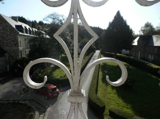 Chateaux du Val - Domaine du Val : Vue de la chambre