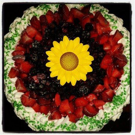Foto torta gelato Gelateria K2 per festa della Mamma!