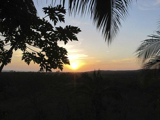 Costa Rica Yoga Spa: Sunset