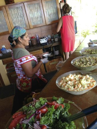 Costa Rica Yoga Spa: The woman can cook!