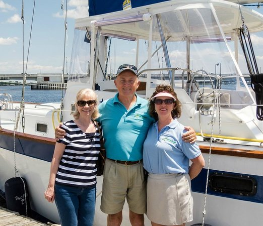 Palm Coast Tours & Sailing: Les and Suzanne are great hosts