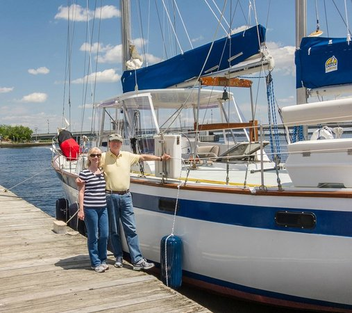 "Palm Coast Tours & Sailing: Here we are, with the ""Two Peas"""