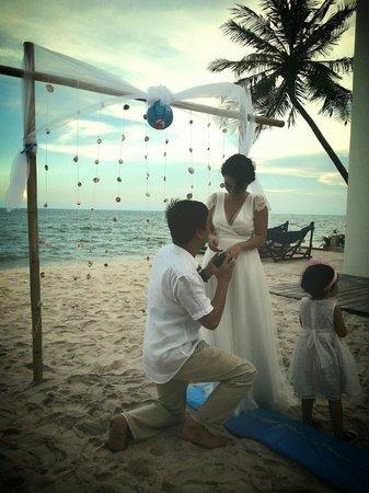 Shades Resort : Private wedding party at Shades Mui Ne