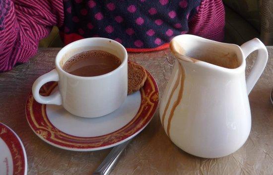 Dupont Avec Un Thé : chocolat d'enfer... Miammmmm !!!