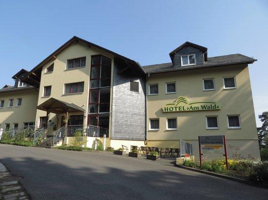 Hotel Am Wald: Hoteleingang