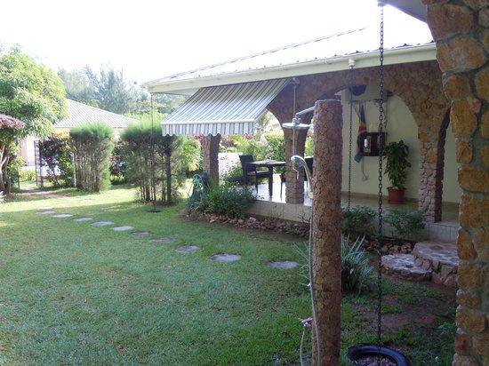 Villa Gaiarda: vista del giardino