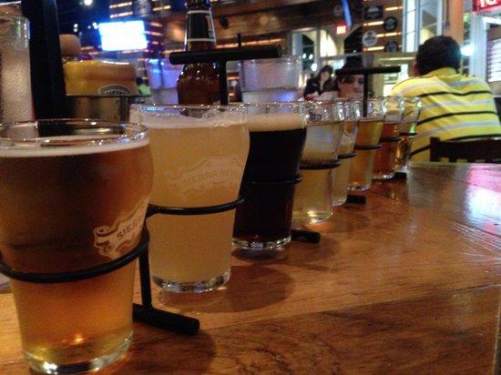 Ford's Garage: Beer flight!!