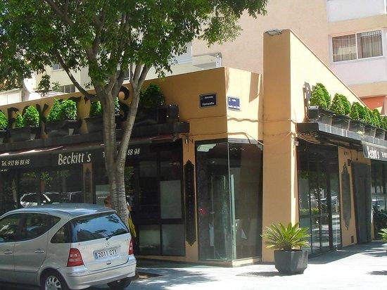Beckett's: Beckitt's restaurant, Marbella