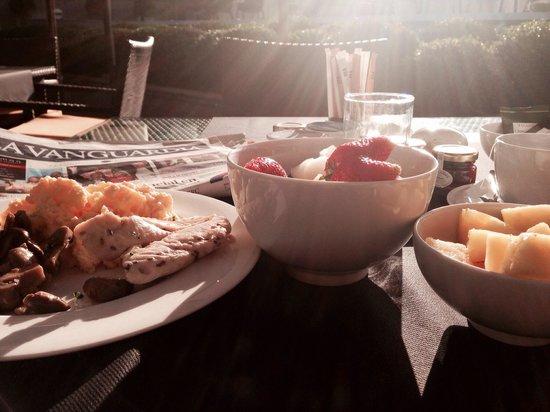 Pullman Barcelona Skipper: El desayuno sano y soleado