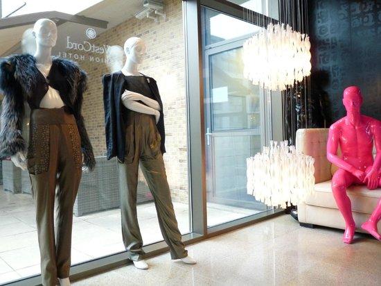 WestCord Fashion Hotel Amsterdam : front lobby