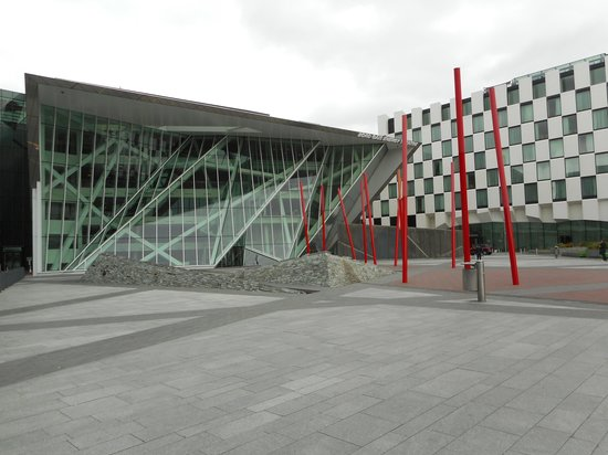 bord gais theatre grease ~ waiting for the start of wicked at the bord gais theatre