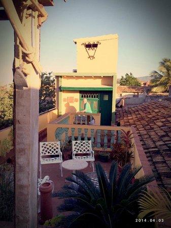 Casa MiCuba: Dachterrasse