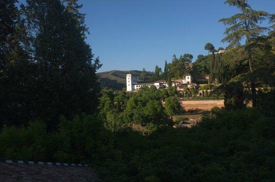 Parador de Granada : C'était le soir