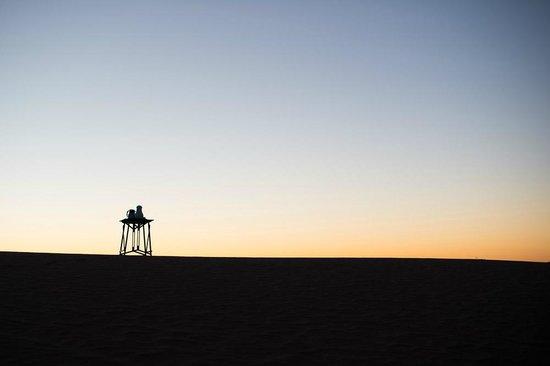 Dar Ahlam : Breakfast coffee in the desert