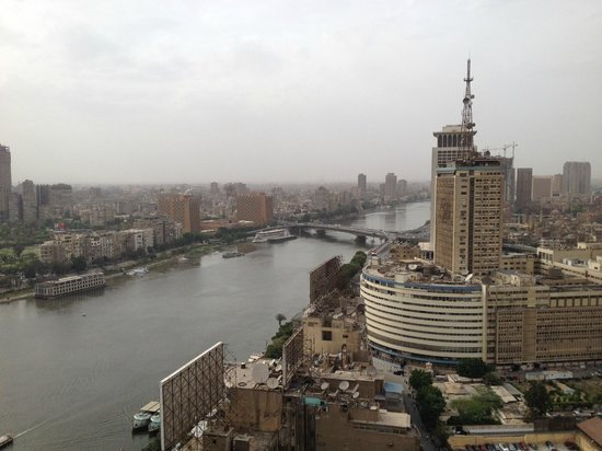 Ramses Hilton: View from the room