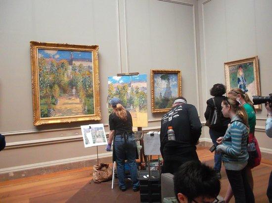 Galería Nacional de Arte: В музее
