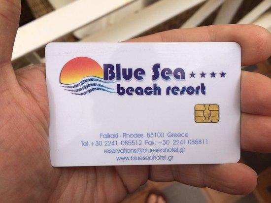Blue Sea Beach Resort: Key