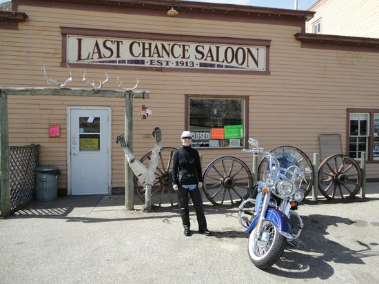 In front of Last Chance Saloon. 2012