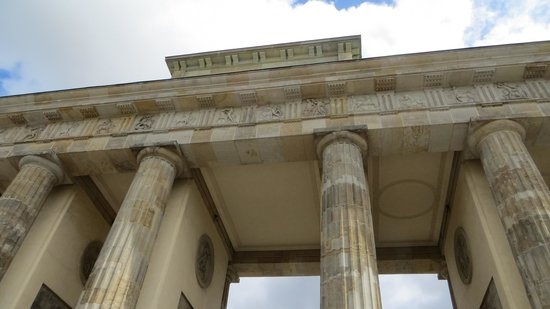 Brandenburg Gate: Detalle de la puerta de Branderburgo
