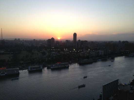 Ramses Hilton : Sunset from my room