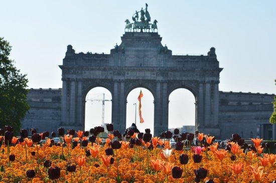 Parc du Cinquantenaire: Arch of Honour