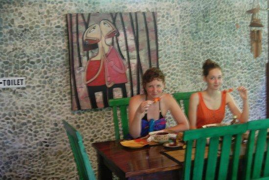Geria Giri Shanti Bungalows: Le petit-déjeuner