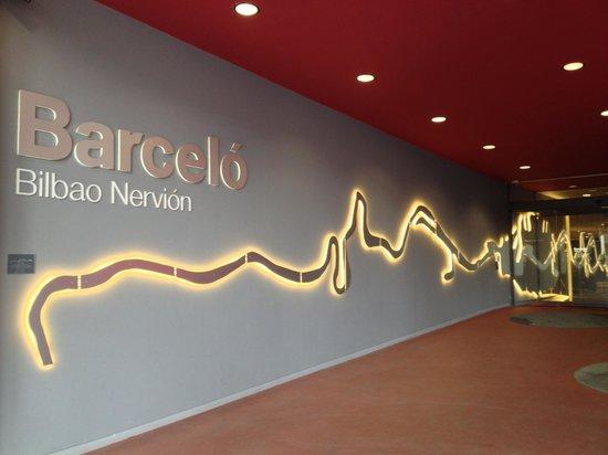 Barceló Bilbao Nervión: Entrée