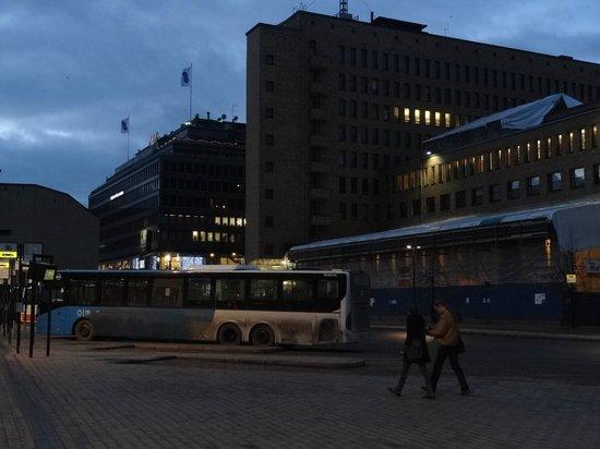 Holiday Inn Helsinki City Centre: Рядом с отелем