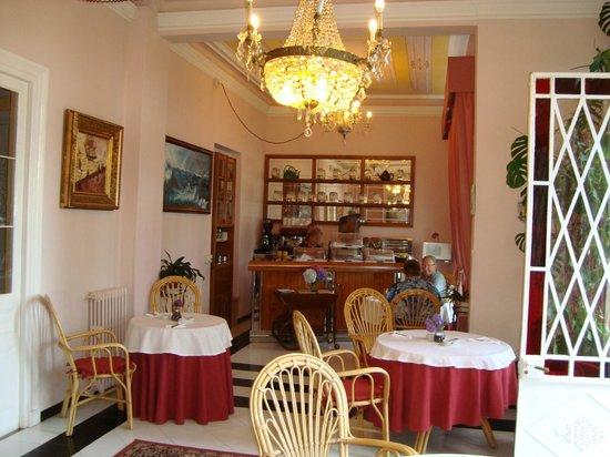 Hotel Villa la Argentina: Sala para desayunos