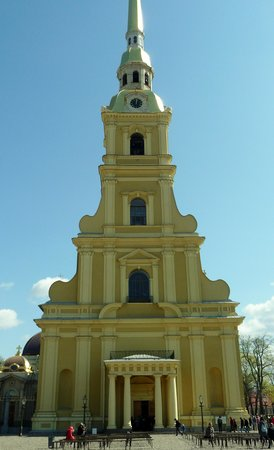 Peter and Paul Cathedral : outside