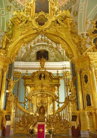 Peter and Paul Cathedral : inside