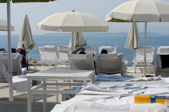 Hotel du Cap Eden-Roc : Sun deck