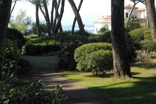 Hotel du Cap Eden-Roc : The Grounds