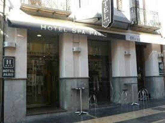 Paris Hotel: Entrada a el hotel