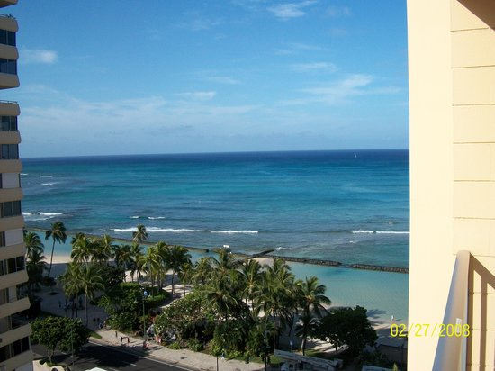 Pacific Beach Hotel : View from our Room
