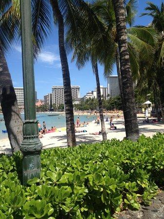 Pacific Beach Hotel : Across the street