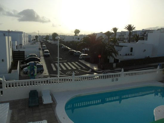 Hotel Lanza Teneguia : view from balcony