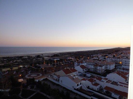 Eurotel Altura: Puesta de sol desde la 9ª planta