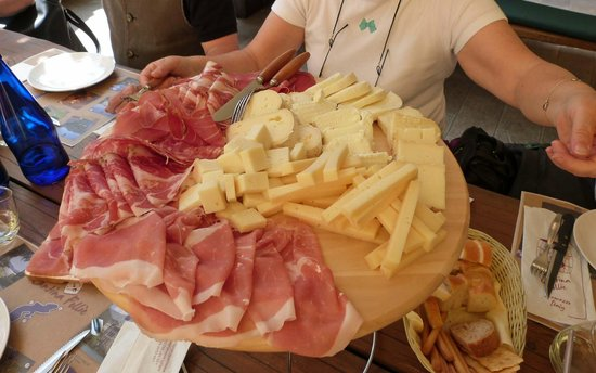Cantina Follie: plat charcuterie-fromage