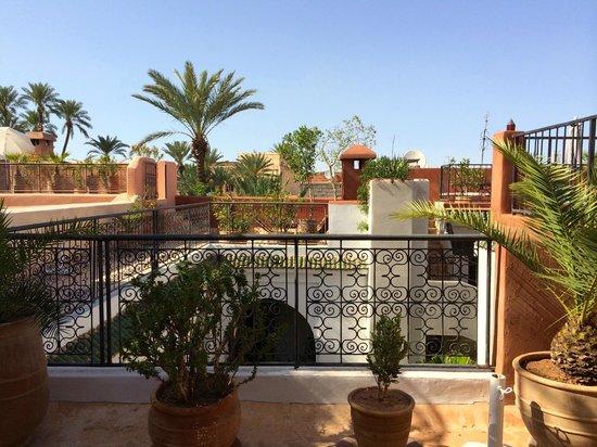 Riad Dar Nimbus: roof terrace