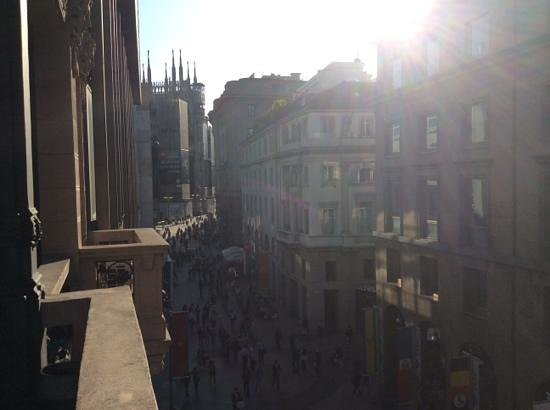 Allegro Apartments Duomo : vue du balcon