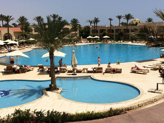 Cleopatra Luxury Resort Sharm El Sheikh: View from the room!