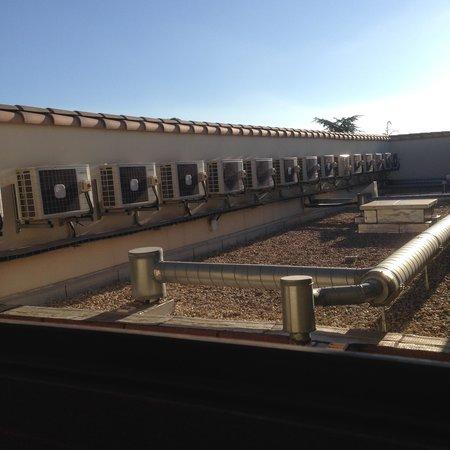Residence Le Mas des Oliviers: VUE DEPUIS APPART N° 302