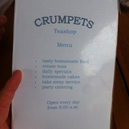 Crumpets Cafe: crumpets!